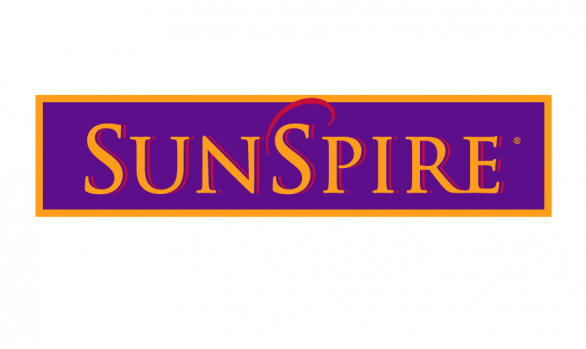 sunspire label design