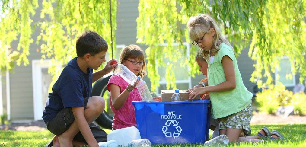 kids recycling & Sustainable Packaging